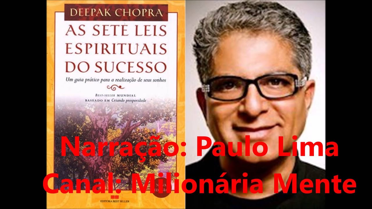 AudioLivro  As Leis Espirituais do Sucesso  Deepak Chopra