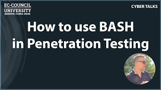 How to use BASH in Penetration Testing
