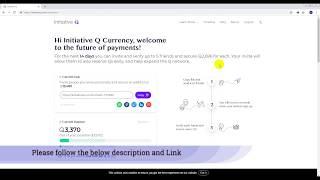 Wie erstelle initiative Q-Konto mit referral-Link und sofortige überprüfen