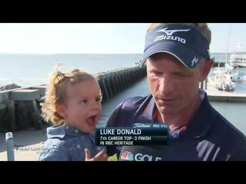 041617 Golf Central  RBC Luke Donald interview