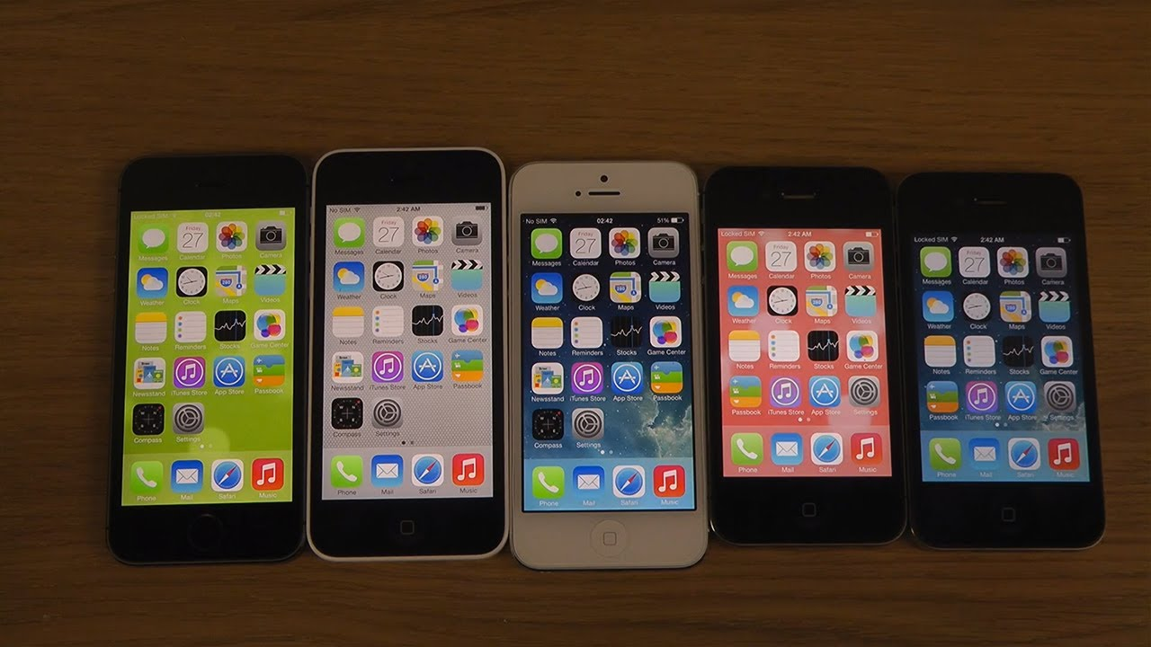 Kamera iphone 4s vs 5s