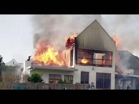 Fire in estate wreak havoc in Wellington