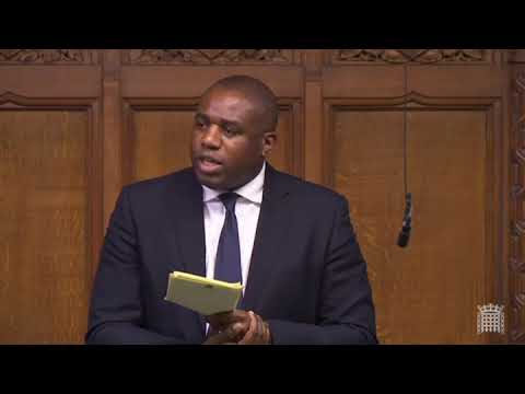 David Lammy's barnstorming speech to the Commons on Brexit