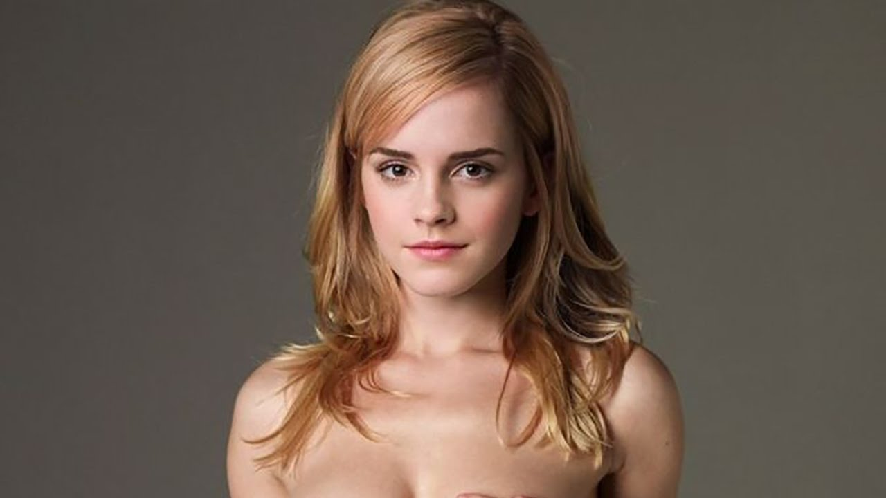 emma watson naked on toilet