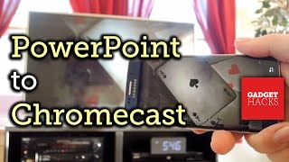 Send Powerpoint Presentations To The Big Screen With Chromecast How To Youtube