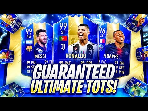 THE BIGGEST PACK OPENING! 19 X GUARANTEED ULTIMATE TOTS PACKS! FIFA 19 Ultimate