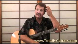 Sweet Baby James Free Guitar Lesson, James Taylor