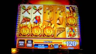 Live Bonus Trigger on Brazilian Beauty - 1c WMS  Video Slots
