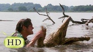 Эйс Вентура 2 — Поединок Эйса с крокодилом - эпизоды, цитаты из к/ф (14/15)