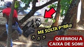 ME SOLTA! NEGO DO BOREL - DANDO SUSTO EM LADRÃO DE MOCHILA COM FUNK PESADÃO