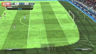 FIFA 13 Gameplay Man City vs Arsenal 2012 HD (PC)
