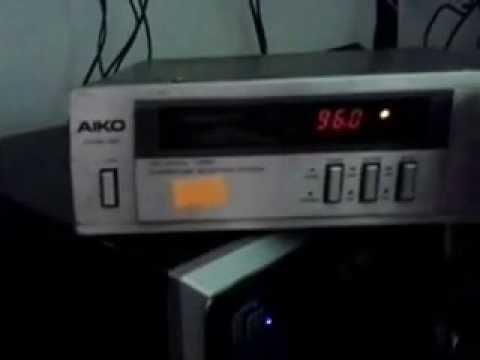 Tuner Aiko Dt 3000 Radio Antigo Simples Am Fm