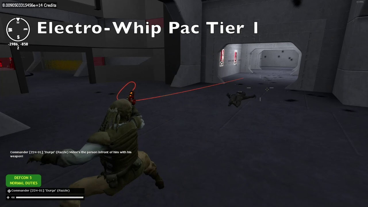 Pac 3 Electro-Whip (Pac Tier 1)