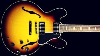 blues guitar backing jam track (e)