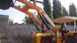 Hyflo Tractor Loader On Hindustan Tractor