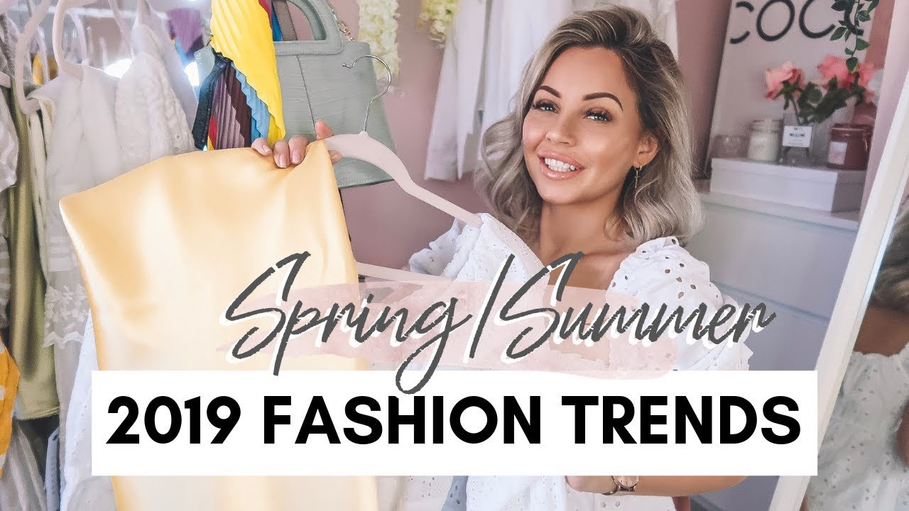 10 FASHION TRENDS FOR SPRING/SUMMER 2019   Lucy Jessica Carter
