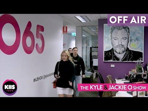Jackie Running Late KIIS1065 Kyle & Jackie O