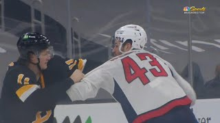 <b>Tom Wilson</b> Drops The Gloves With Trent Frederic