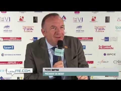 Interview de Pierre Gattaz, président du MEDEF, lors des JTE 2014