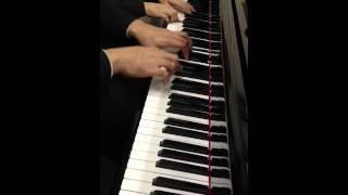 ジャズピアノレッスンの様子です。