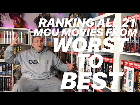 Ranking All 21 MCU Movies from Worst to Best