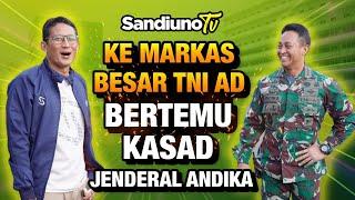 BERTEMU KEPALA STAF TNI AD (KASAD) JENDERAL ANDIKA