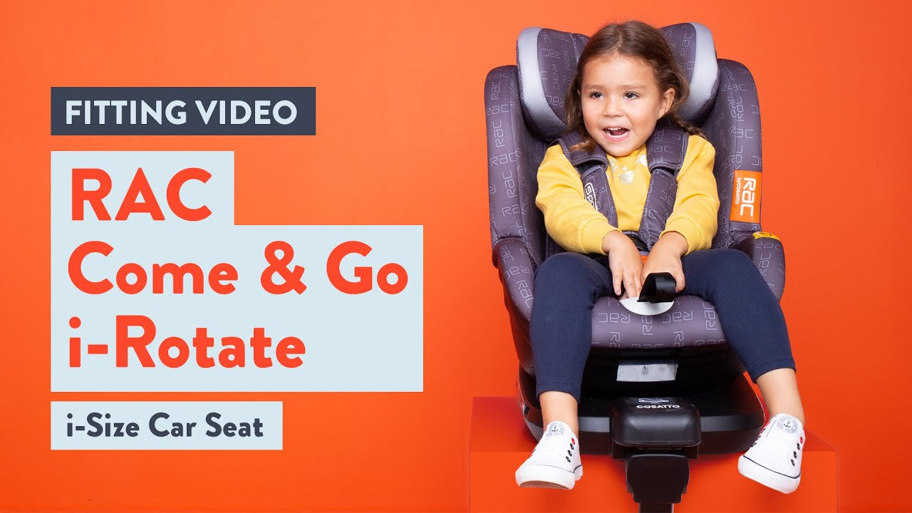 Cosatto RAC Come and Go I-Rotate Car Seat Fitting video