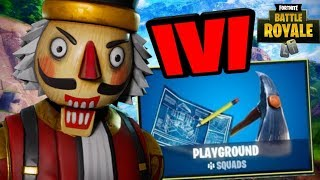 1V1 FORTNITE PLAYGROUND IF YOU DARE + NEW HEAVY AR & NEW STARTER PACK COMING SOON