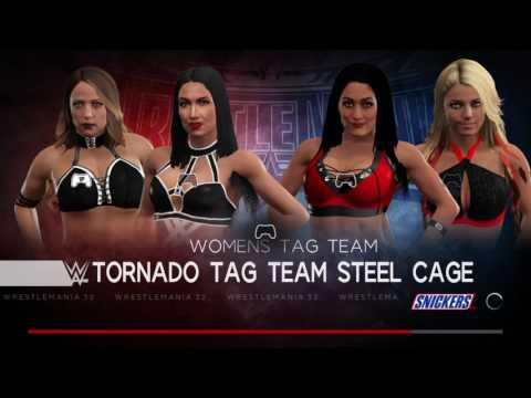 WWE 2K17 New WOMENS TAG TEAM CHAMPIONS CROWNED!!!