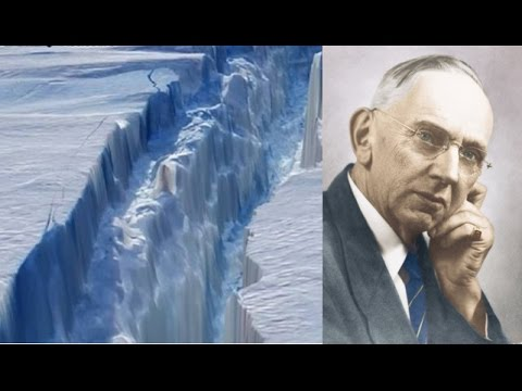 130 km crack spreading across Antarctica, Edgar Cayce foretold it already!