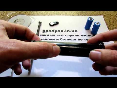 Вело трекер GPS Tracker Модель GPS 305 Видеообзор