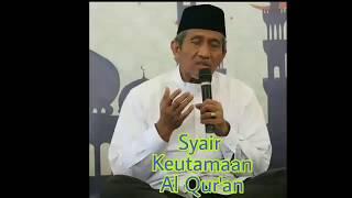 Lagi Viral! Syair Keutamaan Al Qur'an - Karya Dr. Ahsin Sakho Muhammad