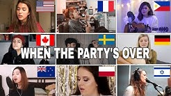 Who Sang It Better : billie eilish - when the party's over (us,canada,new zealand,poland)