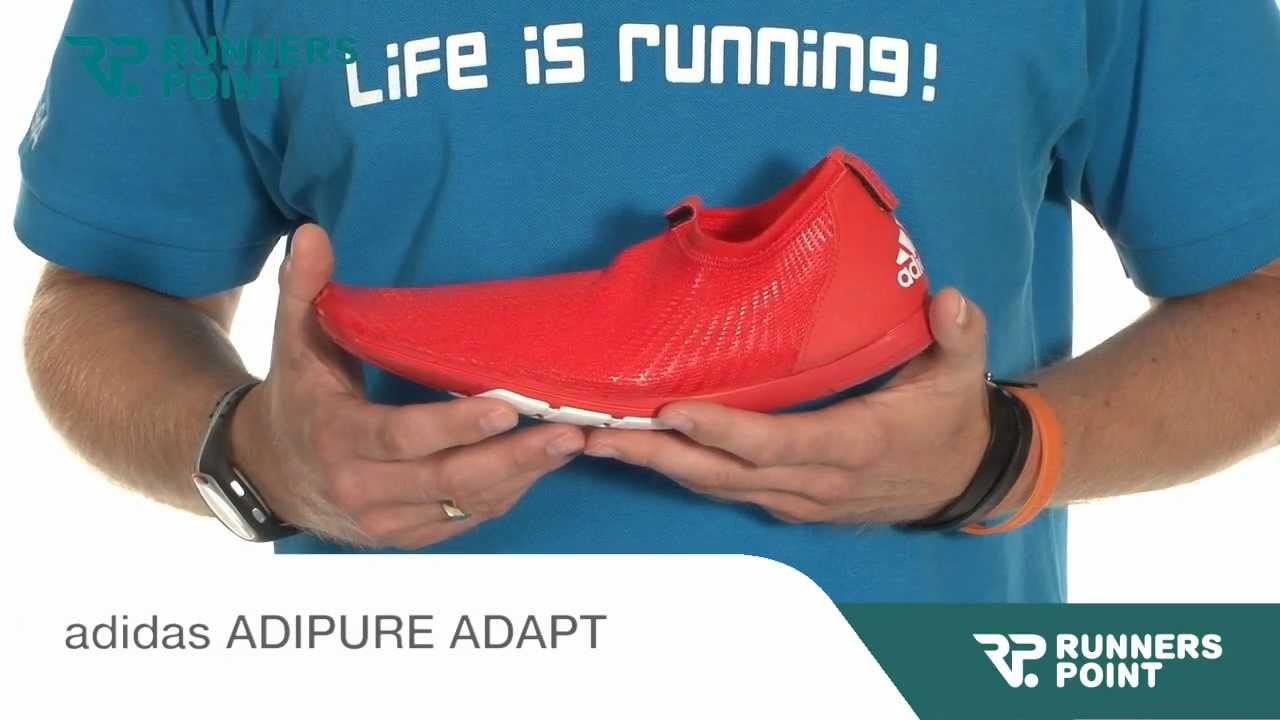 promo code dab3f f5032 adidas ADIPURE ADAPT - YouTube