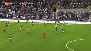 Djurgården - Helsingborg 5/8-13 - Hur man sjunger in en boll i mål.
