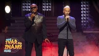 Vojtěch Drahokoupil & Jan Révai jako Stevie Wonder & Sting