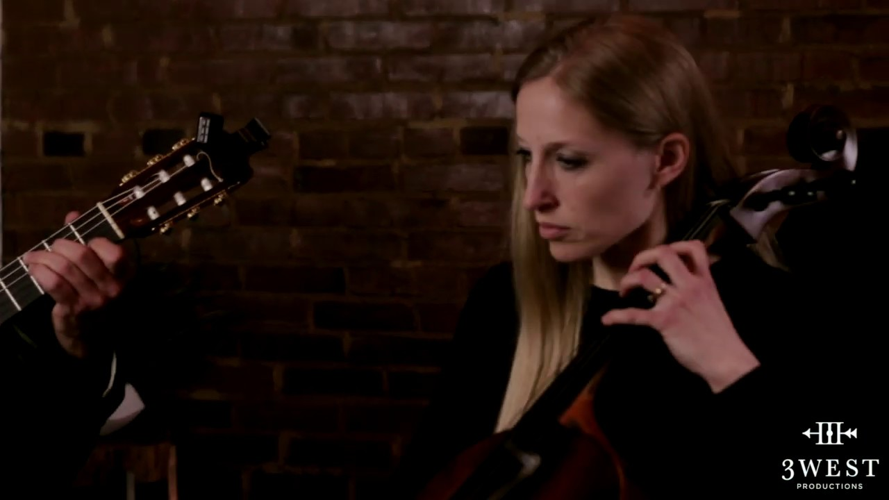 "Guitar + Cello Duo - ""Cello Suite No.1 Minuet"" 