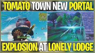 *NEW* Fortnite: TOMATO TOWN NEW PORTAL AND ALL CURRENT NEXT LOCATIONS! | (Leaked Locations)