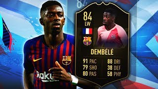 IF DEMBELE 84! 5 STAR WEAK FOOT IS TOO GOOD! FIFA 19 ULTIMATE TEAM