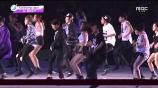 140919 Incheon Asian Games - JYJ Empty (Sub Español + Karaoke)