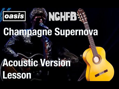 Guitar Lesson Champagne Supernova Live 2015 - Noel Gallagher\'s High ...