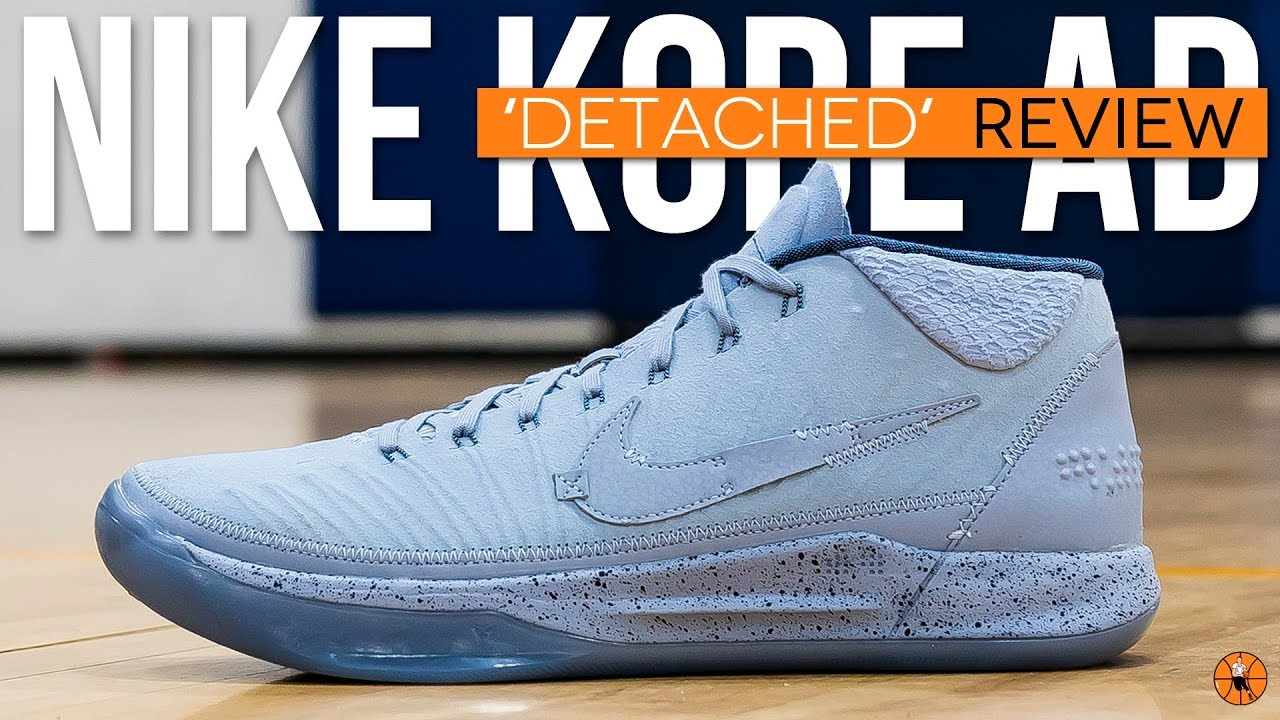 differently 0f1f1 d651d NEW KOBE ALERT! | Nike Kobe A.D. Mid 'Detached' | Detailed Review