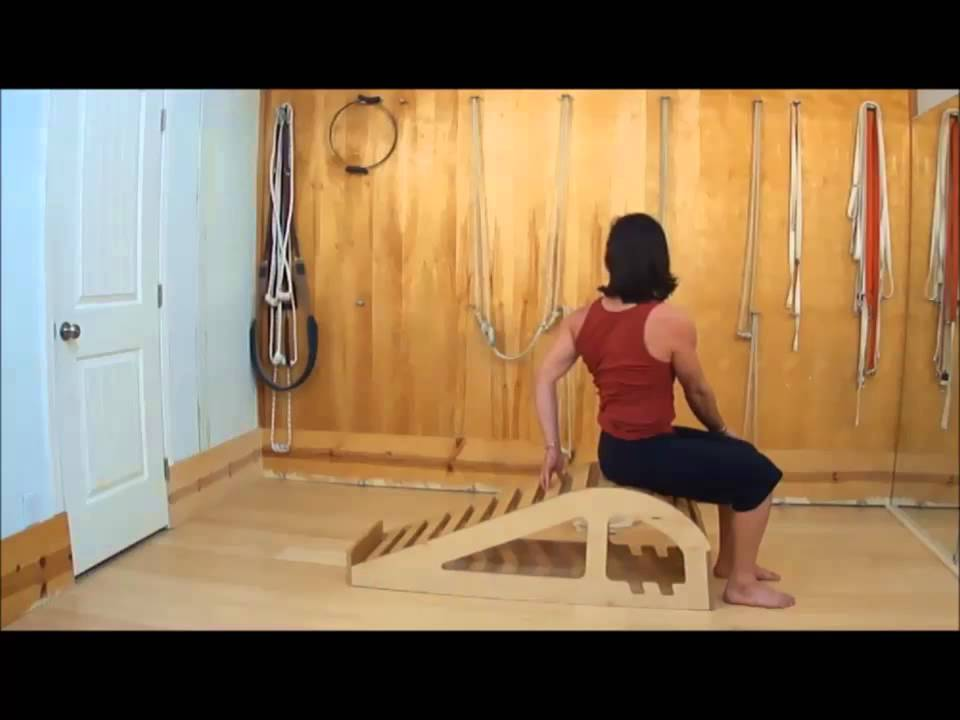 Practicing Hatha Yoga On Iyengar Yoga Props Part 2 - Youtube