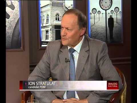 Dialog electoral cu Ion Stratulat EuroTV