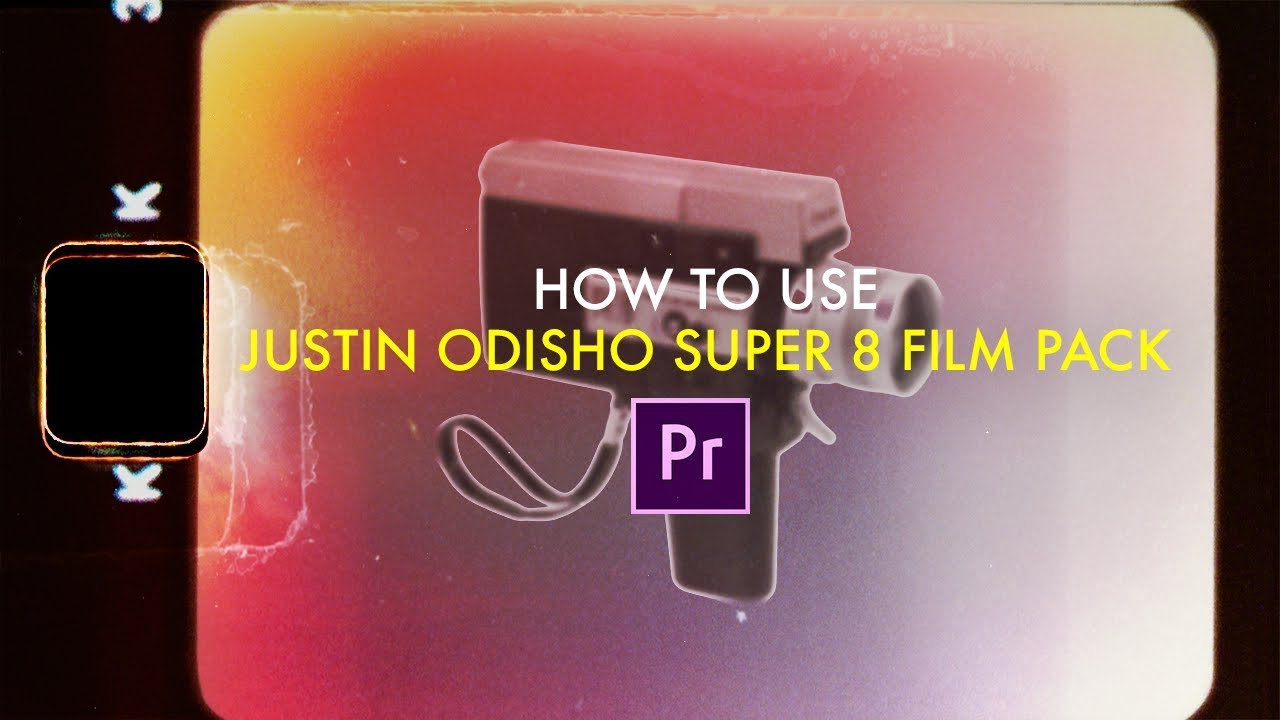 How to use my Super 8 Film Overlays Pack