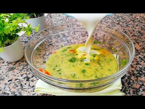 vite-fait-et-bien-fait-!👌-recette-crêpes-salées-farcis-😋-😋-😋-/-egg-&-flour-recipe-asmr