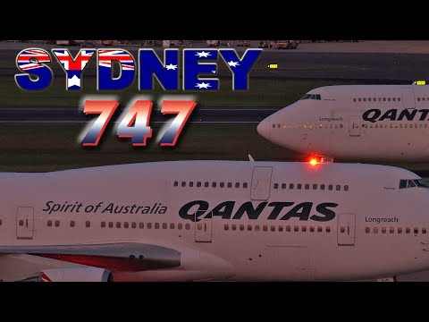 QANTAS Boeing 747s Still Going Strong!