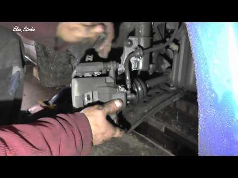 Замена шаровой опоры на Chevrolet Aveo