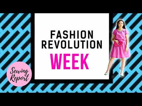 It's Fashion Revolution Week! #whomademyclothes 🔴 SEWING REPORT LIVE