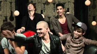 The Wanted Interview - Forgetting Shoes And Hanging Out With Models!